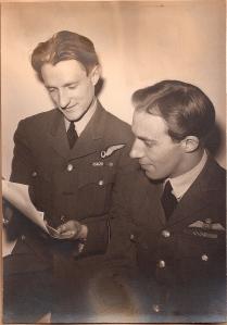 F/S John Baker & F/Lt Maurice Briggs