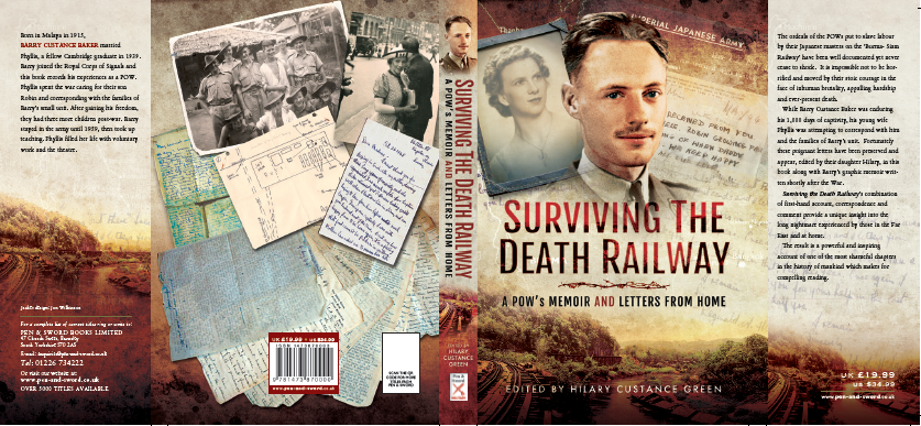 Clicking on the image will take you to Pen & Sword,  or you can click https://www.amazon.co.uk/Surviving-Death-Railway-Memoir-Letters/dp/1473870003/ref=sr_1_1?s=books&ie=UTF8&qid=1465596725&sr=1-1&keywords=Hilary+Custance+Green for Amazon